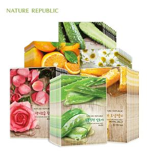 Korean nature famous brand republic pack_MADE IN KOREA_Real Nature facial sheet pack 14 kinds for wholesale