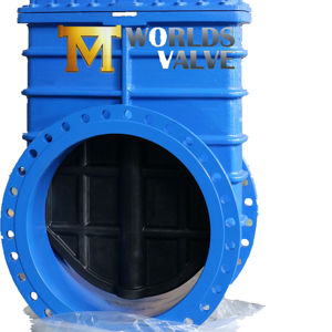 PN10/16 Ductile Iron gate valve with bevel gear operator