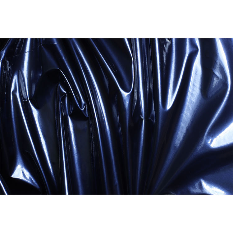 Top Quality pu artificial leather Promotional Custom 75D 109gsm Pu Coated Fabric Waterproof Leather clothing Fabric leather