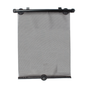 2020 New Car Window Roller Sunshade Nylon Mesh Car Side Window Retractable Car Sun Shade for Block Sun Glare and Heat