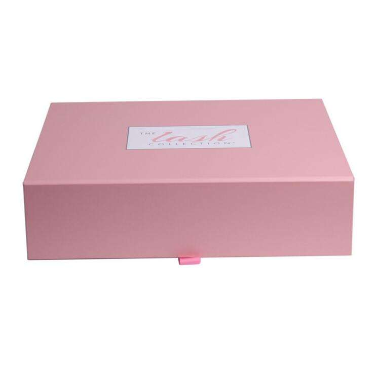 Wholesale Empty Small Custom Jewelry Cosmetics LOGO Colour Paper Cardboard Gift Folding Magnetic Boxes