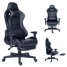 YB-2007 Hot Selling  Ergonomic PC Computer Chair Racing Gaming Chair With Footrest