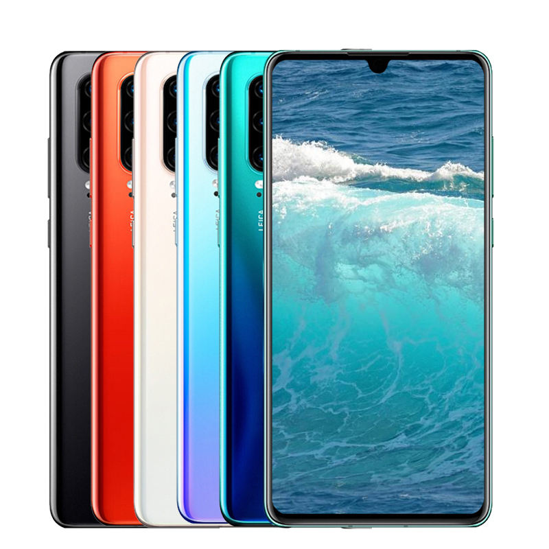 Cellular Android Mobile Phone for Huawei P30 Pro 8GB+256GB 4g cell phone Refurbished 6.4 inch Touch Screen Full HD