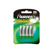 PAIRDEER private label HR03 1.2v rechargeable aaa battery