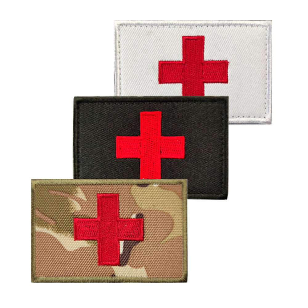 Souvenir 3D Embroidery Blood Type Patch For Group Military Tactical Patches A+ O+ B+ AB+ Positive A- B- AB- O- Negative badges