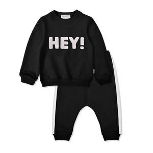 Baby Wear Suits Clothing 2pcs Set Casual Daily Cotton Knit For Boys Boutique Clothes Custom Winter Europe Apparel Item