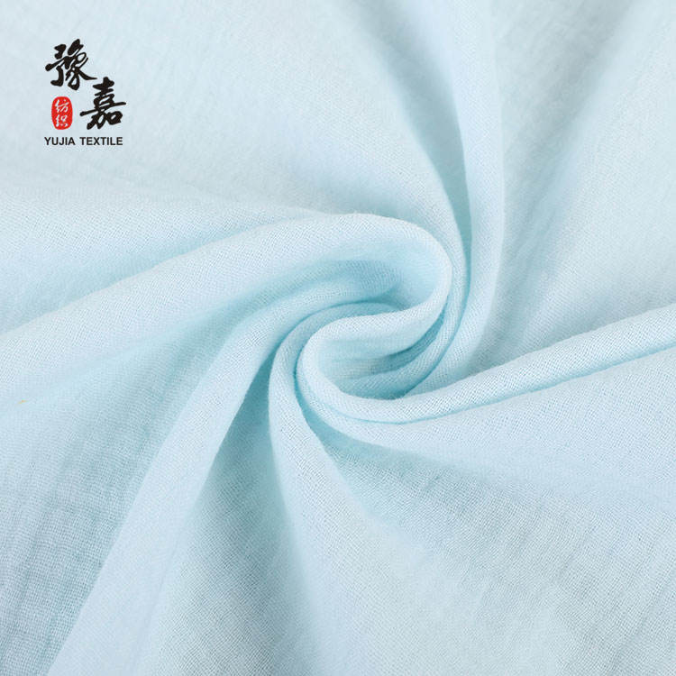 High quality gauze muslin cotton fabric gauze double gauze fabric for dress