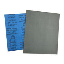 Silicon carbide waterproof sanding paper for polishing car