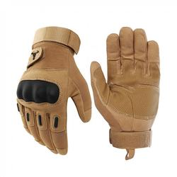 Custom protective shock resistant full finger army military gloves