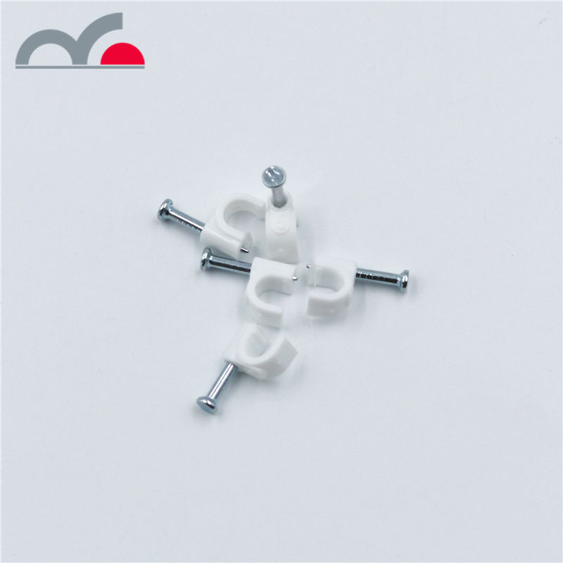 Wire Harness Square Plastik 5 Mm Alligator Kuku Earphone Kabel Nilon Klip dengan Pe