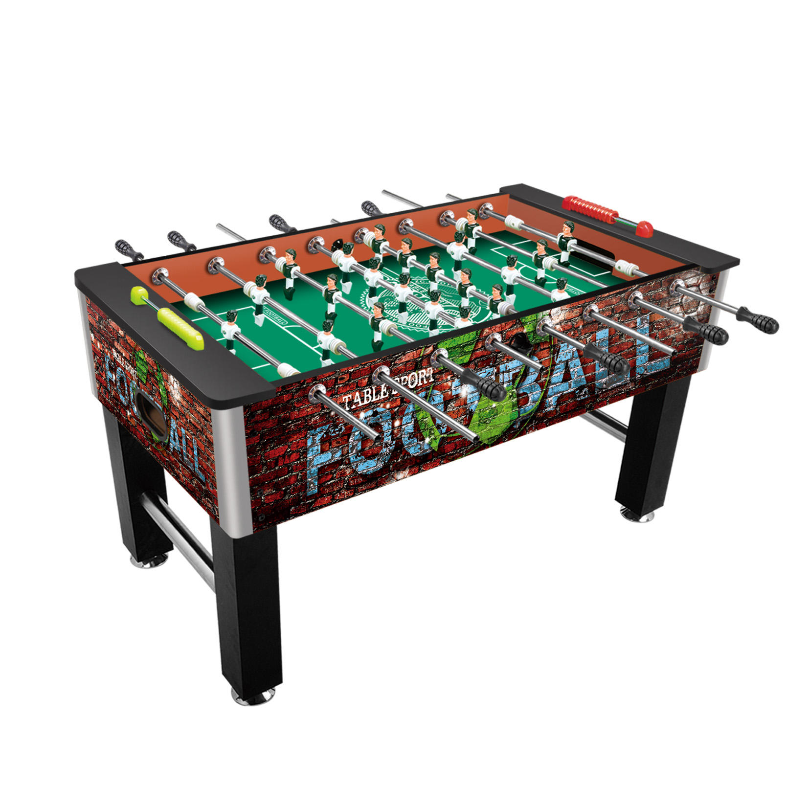Custom Indoor Sport Game Desktop Foosball Soccer Table