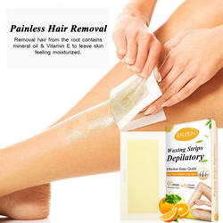 Hair Removal Wax Strips for Arms, Leg & Body, Waxing kit wit