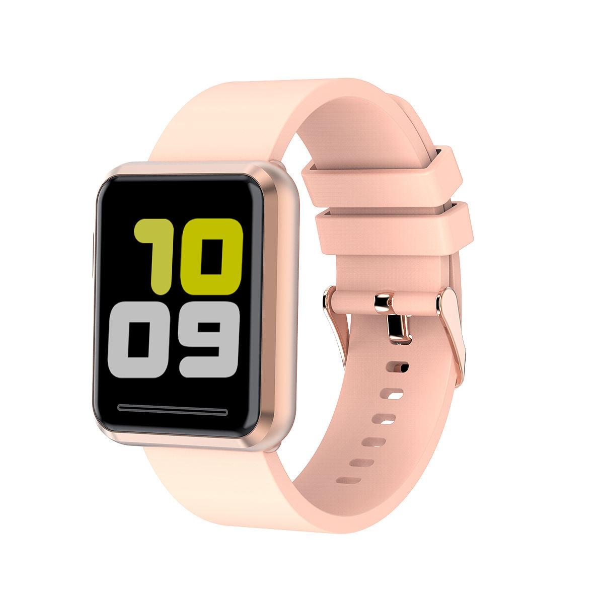 Yarım yansıtır ışık yarı geçirgen montre connecte sıkılaştırma bandı 2020 akıllı saat