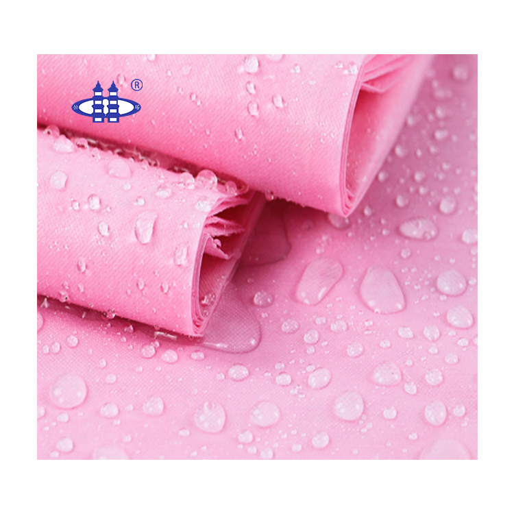 Waterproof and breathable non woven laminated pp pe coating film nonwoven fabric