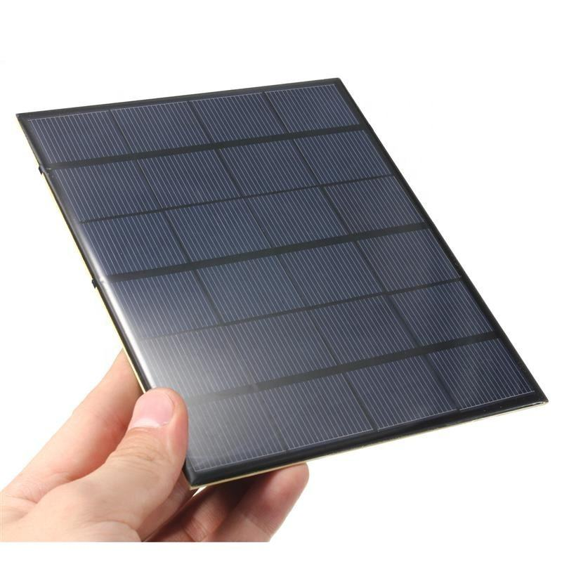 Customized 1.2W 6V Small Solar Panels Epoxy Mini Solar Cell Solar Panel For Battery Charger