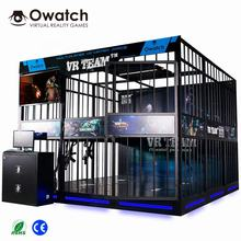 VR Cs Arcade Games Indoor Game Machine 9d Virtual Reality Shooting Simulator Panyu VR Franchises