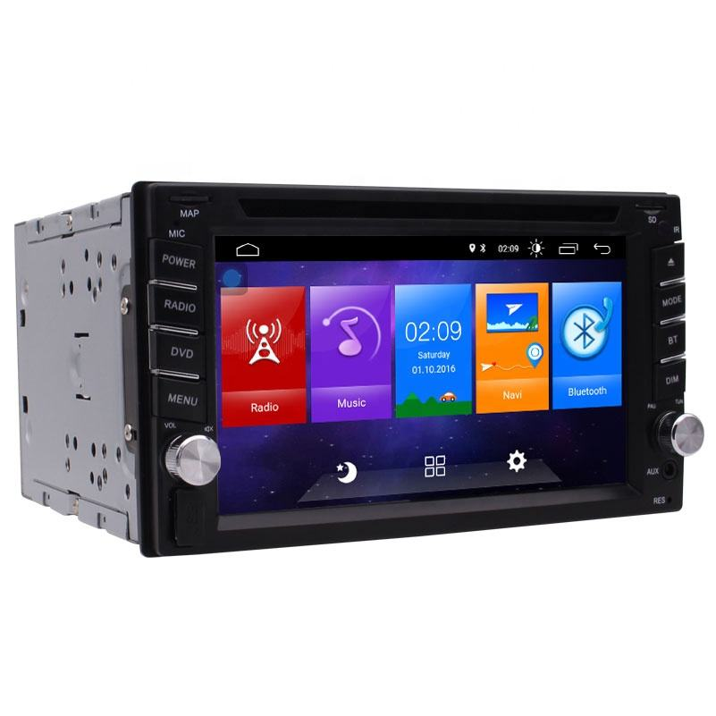 Android 10. 0 Double DIN สเตอริโอ GPS นำทาง CD/DVD 6.2