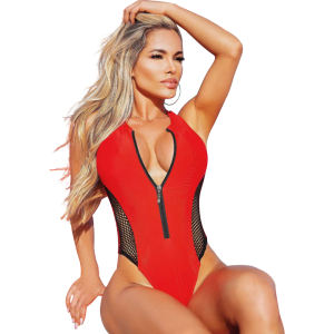 2019 Hot swimwear & beachwear one piece swimsuit sexy girl bikini women pure v neck bathing suit in beach women's swimsuit