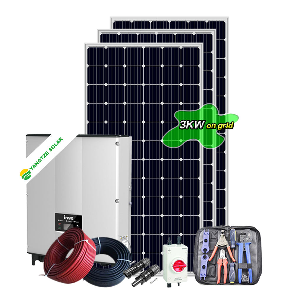 Yangtze 3 kw small winter solar system for house
