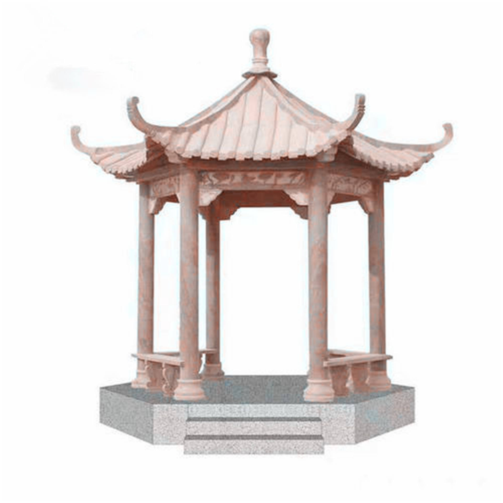 Hot sales marble stone Summerhouses