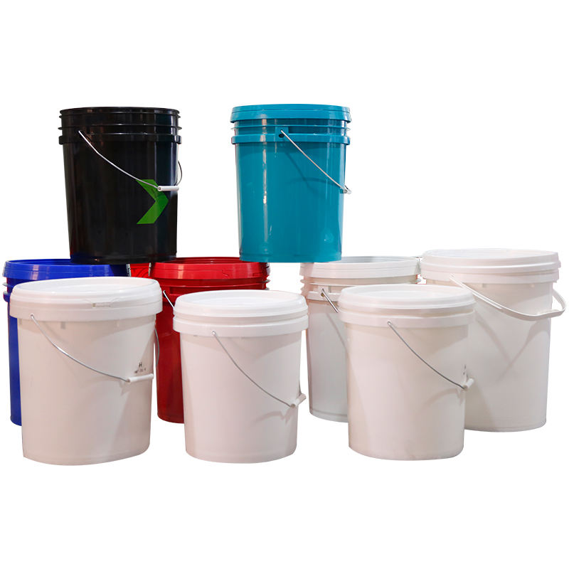 hot 25L 6.5 gallon plastic ice buckets with lids & handles