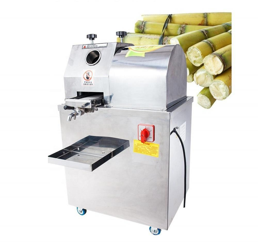 Stainless steel juicer extractor sugar cane juice and extraction machine