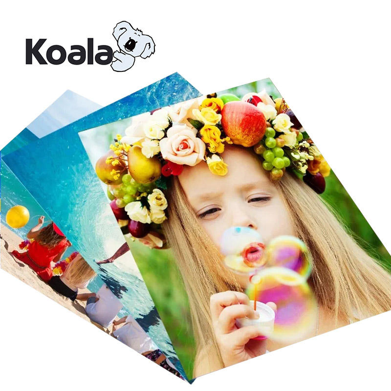 Koala professional 128g High Glossy Color Laser Paper Printing Photo Paper