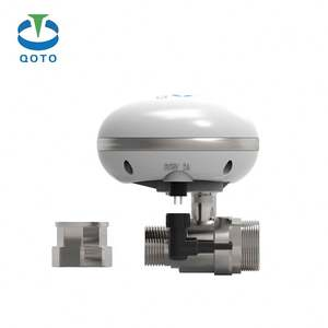 wifi gas water shut off valve automic electronic watering system 1/2'' position way timer drain valve Save water