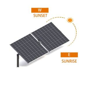 High Efficiency Real-time 200kw 500kw 1MW 2MW tracking Solar Tracker