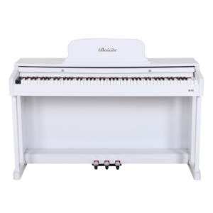 Multi-Function 88 keyboard electronic 85 digital white acoust upright piano