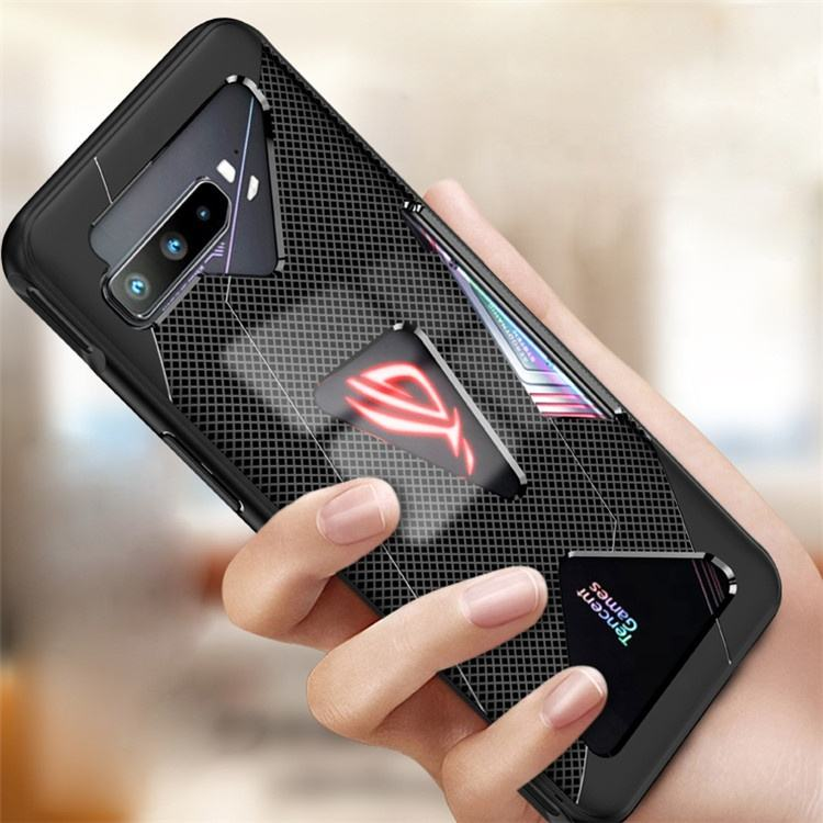 New Arrivals Creative Cool Fashion Soft Tpu Mesh Warmteafvoer Game Mobiele Telefoon Cover Case Voor Asus Rog Telefoon 3