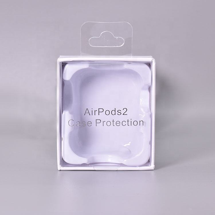 wholesale custom retail Cheap gift box bluetooth airpods 2 earphones packaging box
