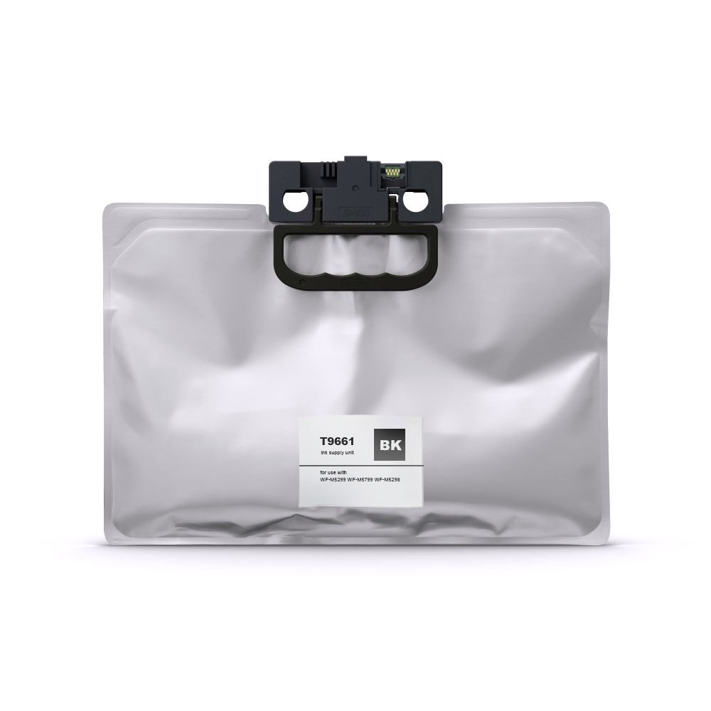 replacement black pigment ink bag T9661 for EPSON WF-M5299DW WF-M5799DWF WF-M5298DW M5299DW M5799DWF M5298DW WF series printers