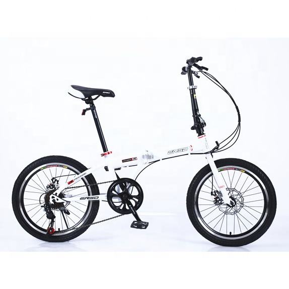 Neue <span class=keywords><strong>Modell</strong></span> 7 Speed High Carbon Stahl Klapp Zyklus Erwachsenen Kind Faltbare Fahrrad eurobike