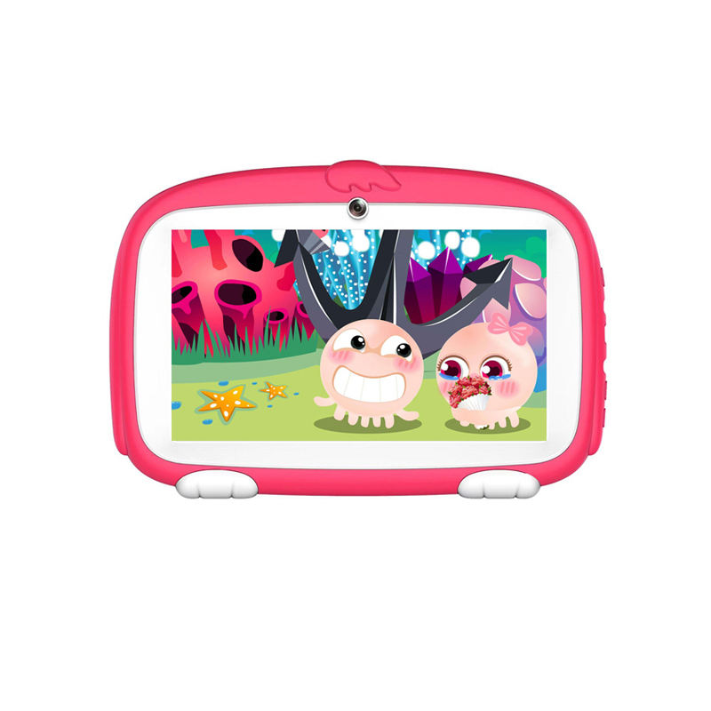 kids tablet educational hot selling Cute Dog Design Android 7 Inch Cheap kids tablet with Educational Gaming Apps