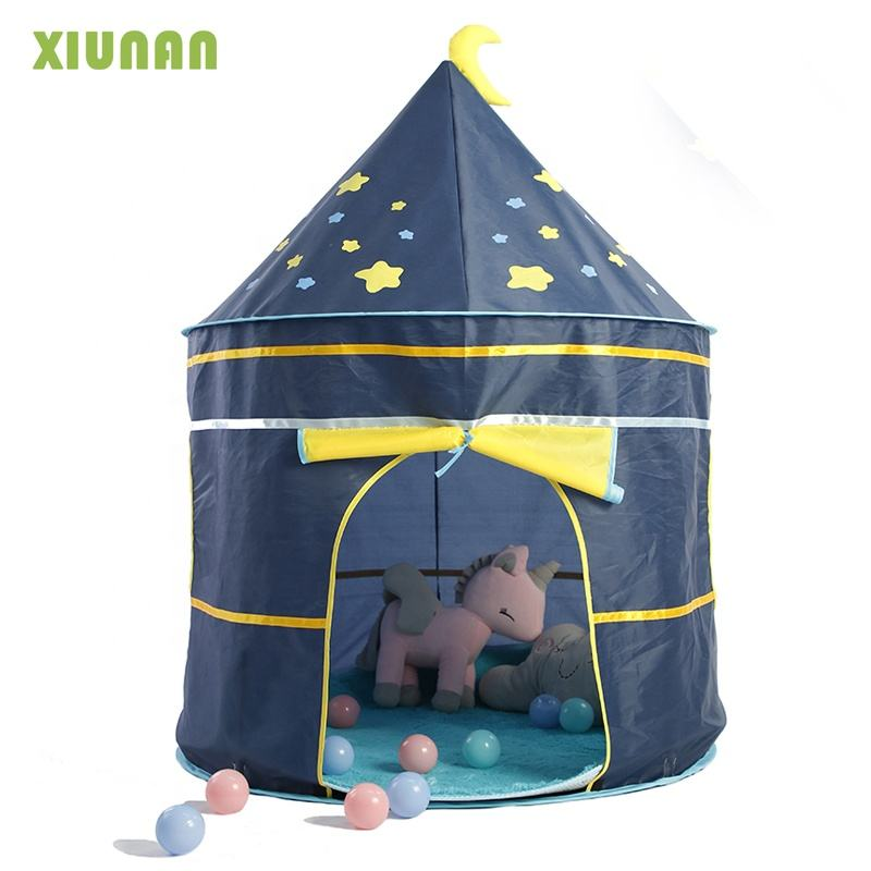 Prinses Prince Castle Kid Play Tent <span class=keywords><strong>Kinderen</strong></span> Spelen Tent Indoor <span class=keywords><strong>Kinderen</strong></span> Huis