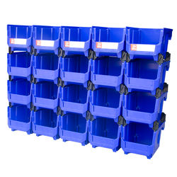 Steerable plastic Spare parts storage box Plastic tool parts bin/box for warehouse