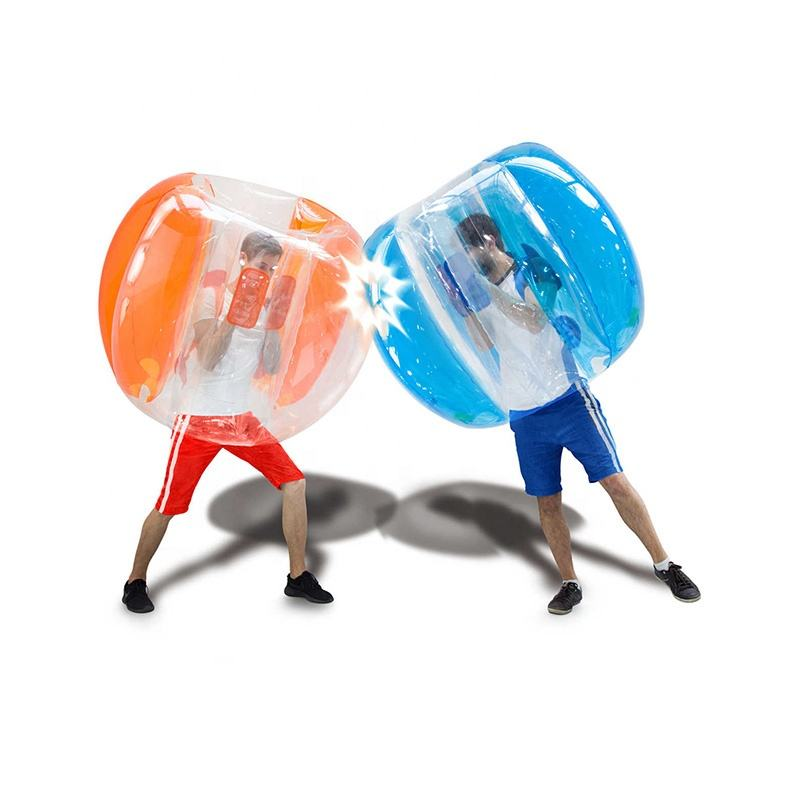 Summer Garden Grassland Inflatable Body Bumper Ball Games For Kids/Adult