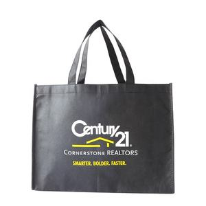 Brand Promotion Custom Printed Logo Eco Non Woven Tote Bags Reusable Shopping Bags