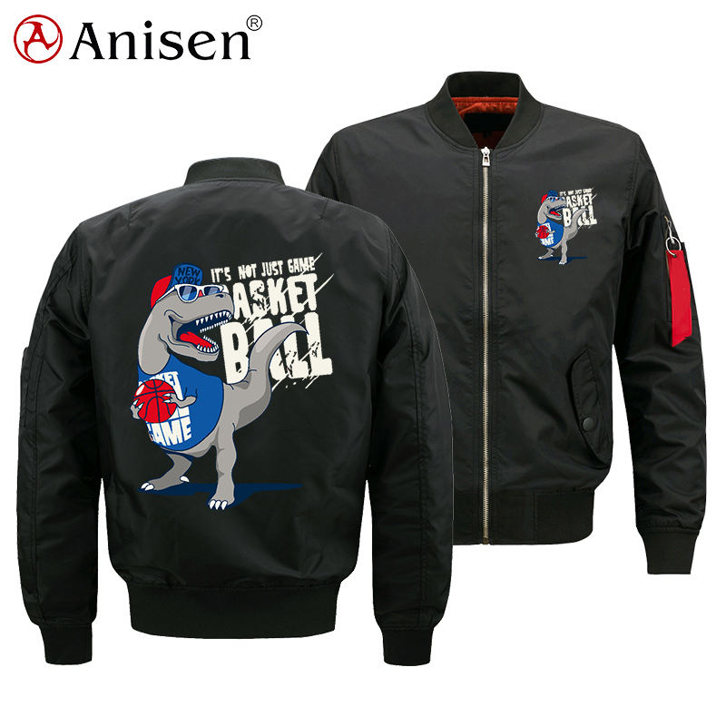 Chinese Style Jacket Waterproof Men Custom Logo Nylon Bomber Jacket