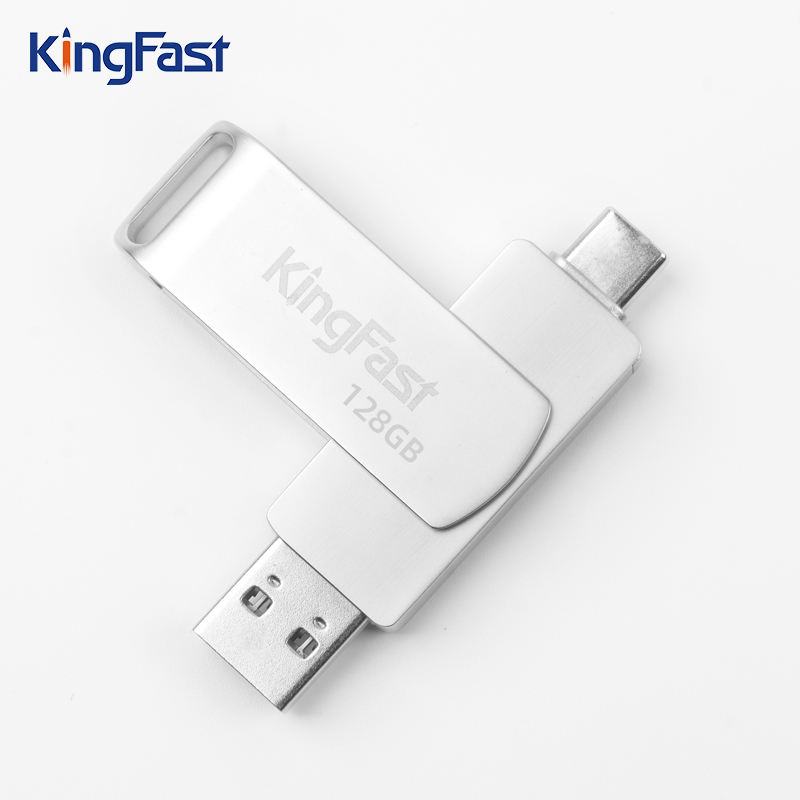 High quality Swivel Metal USB Memory drive 512GB support for customized logo and packaging