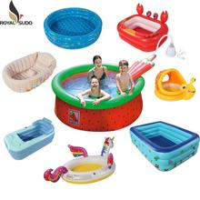 18 years professional inflatable product manufacturer portable folding inflatable intex swimming pools