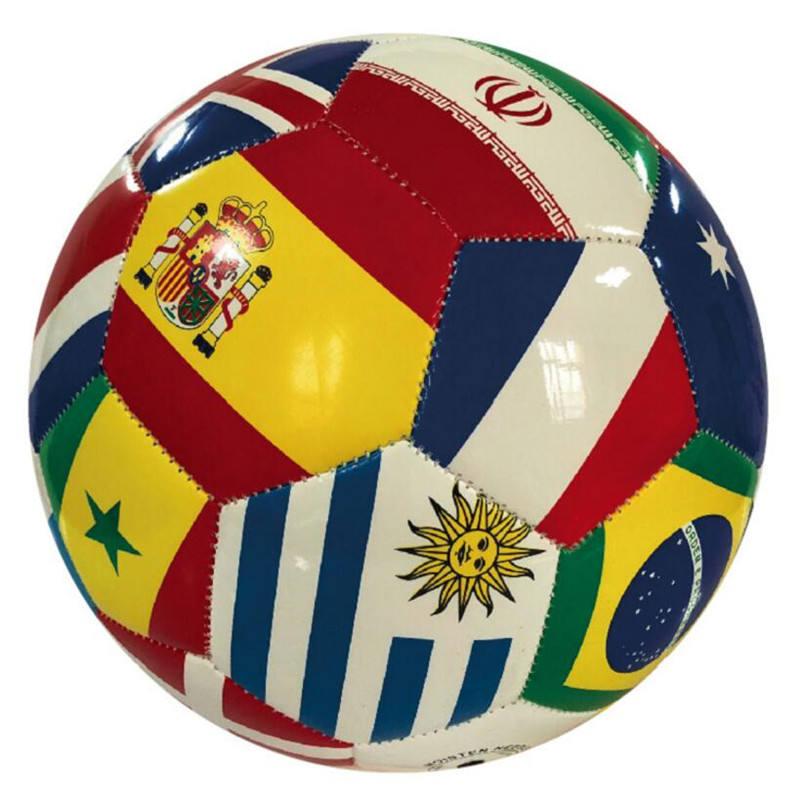 Actearlier Hot Bán Nghĩa Cờ Bóng Đá Futebol Bóng Đá Bán Buôn Bóng Người Đàn Ông Đào Tạo Ngoài Trời Thể Thao Bóng Đá Bóng Size5