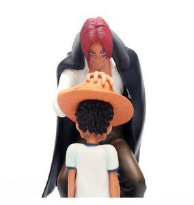 Dört imparator sapları hasır şapka Luffy PVC aksiyon figürü gitmek mutlu bebek koleksiyon Model
