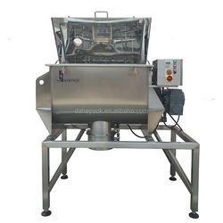 used twin shaft powder paddle mixer steam jacketed ribbon blender for sale