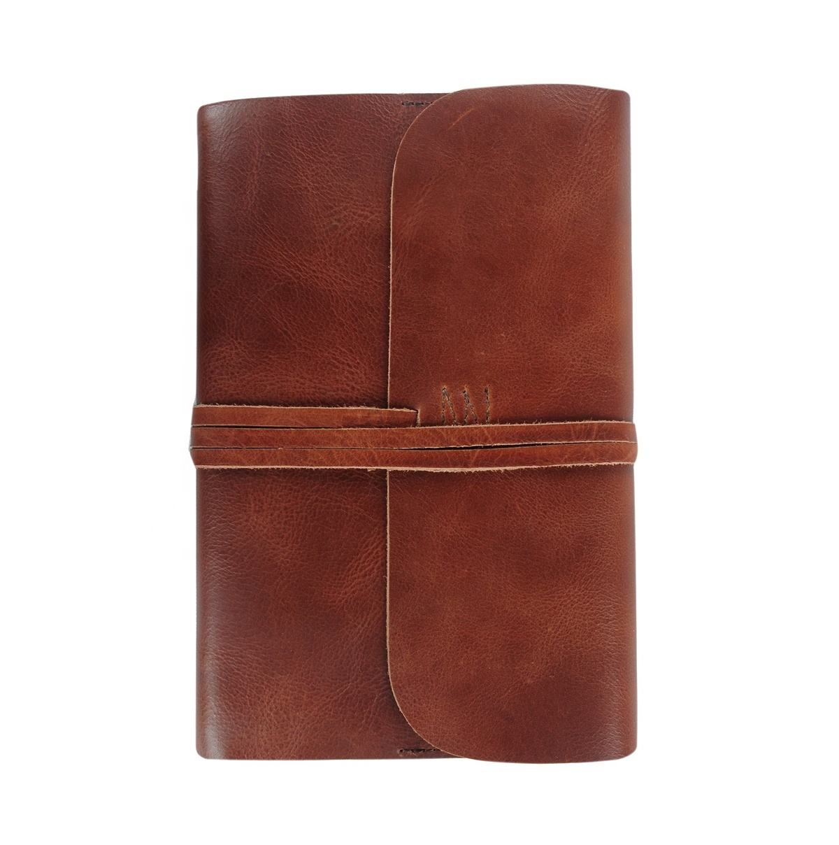 A5 Leather Journal Writer Notebook Diary Customized Colors