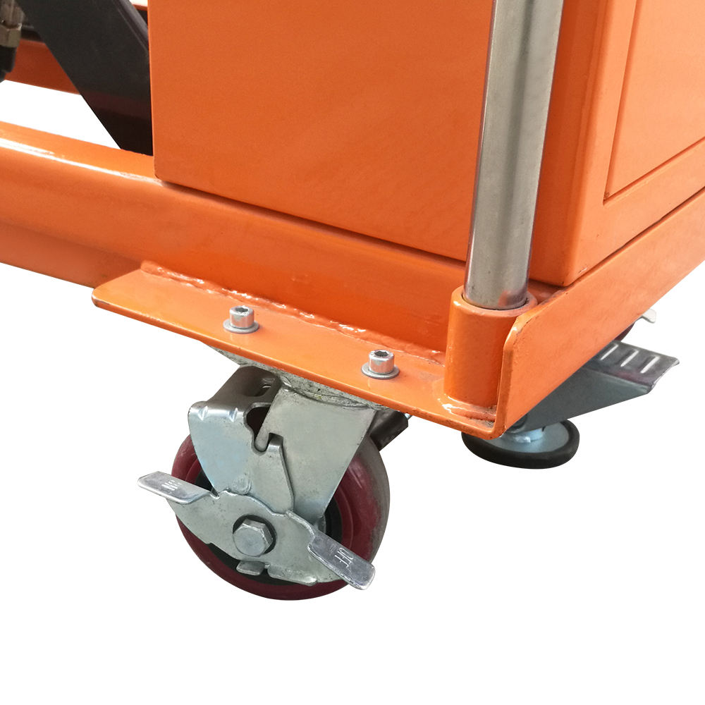 Video Technical Support China Easy Used Warehouse Mini Movable Scissor Lift Lifter Machine