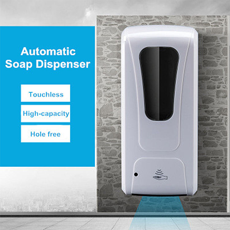 Longhe OEM Automatic Soap Dispenser Wall Ir Battery Hand Sanitizer Wholesale Wall Mount Battery Dispenser Soap Sensor