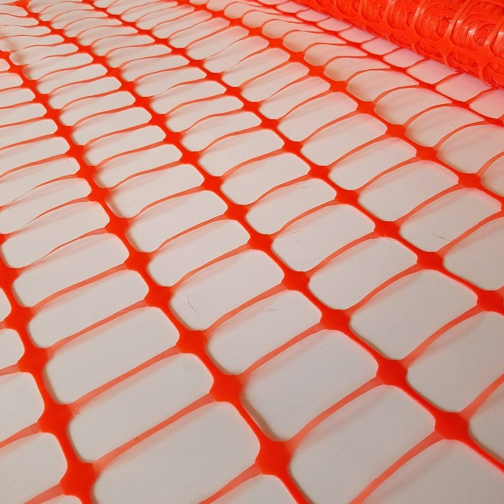 Logo Customization Safety Mesh Fence Plastic Mesh Safety Orange Temporary Construction Fence Construction Wire Mesh Fencing