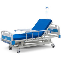 ce approved factory price abs three functions crank manual adjustable hospital care bed